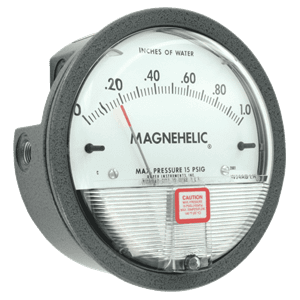 Picture of Dwyer Magnehelic differential pressure gauge series 2000