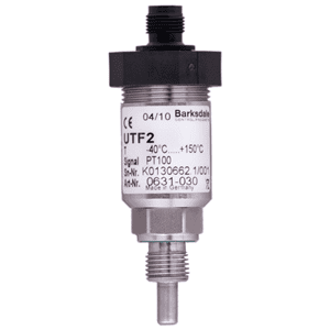 Picture of Barksdale PT100 temperature sensor UTF2 series