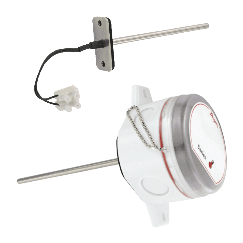 Dwyer Temperature Sensor For Duct Mounting Series Te D