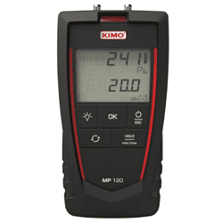 Picture of Kimo portable air velocity meter series MP120