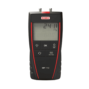 Picture of Kimo portable differential pressure meter series MP110