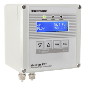 Picture of Micatrone pressure-flow transmitter series MF-PFT