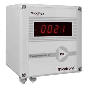 Picture of Micatrone differential pressure transmitter series MF-PD