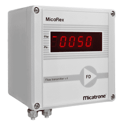 Picture of Micatrone air velocity transmitter series MF-FD