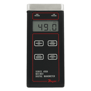 Picture of Dwyer digital manometer series 490A