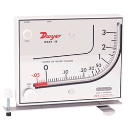 Picture of Dwyer inclined vertical manometer series Mark II
