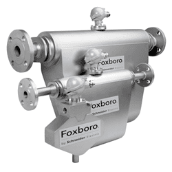 Picture of Foxboro coriolis flow tubes series CFS25