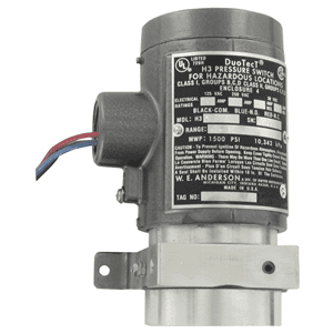 Picture of Dwyer ATEX differential pressure switch series H3