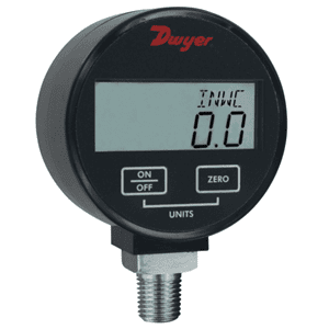 Picture of Dwyer digital pressure gage series DPGW