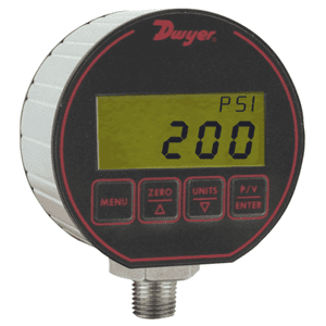 Picture of Dwyer digital pressure gage and transmitter series DPG-200