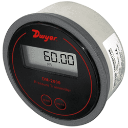 Picture of Dwyer differential pressure transmitter series DM-2000