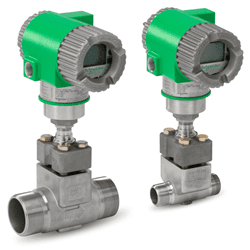 Picture of Foxboro vortex flow meter for gas and liquid series 84F