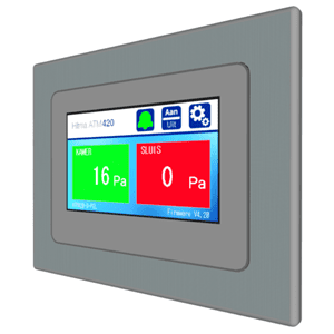 Picture of Hitma touchscreen room pressure monitor series ATM420