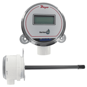 Picture of Dwyer duct mounting humidity transmitter series RHP-D