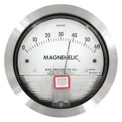 Picture of Dwyer High-Accuracy Magnehelic Pressure gauge Series 2000-HA