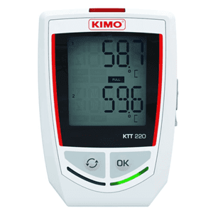 Picture of Kimo themocouple temperature datalogger series KTT220