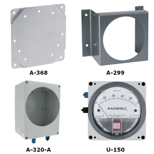 Picture of Dwyer Magnehelic mounting accessories