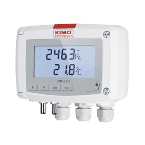 Picture of Kimo differential pressure transmitter series CP210