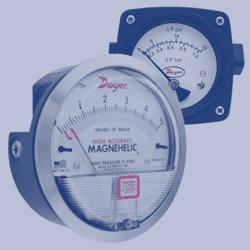 Picture for category Differential pressure gauges
