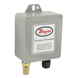 Picture of Dwyer outdoor temperature and humidity transmitter series WHT